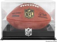 NFL Shield Black Base Football Display Case - Fanatics
