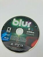 Sony PlayStation 3 PS3 Disc Only Tested Blur Ships Fast played once