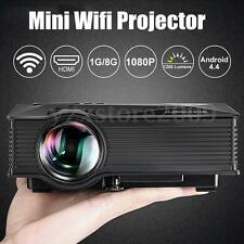 BlitzWolf Portable WiFi Projector HD 1920x1080 1200 Lumens Wireless Home Theater