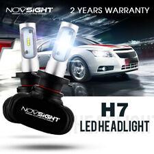 NOVSIGHT 72W H7 LED Headlight Bulbs Kit Car Lamp Replace Halogen White 6500K