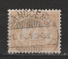 Nederlands Indie Netherlands Indies Indonesie 113 CANCEL BANDOENG Cijfer 1912