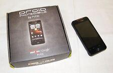 *FOR PARTS* HTC Droid Incredible - Black (Verizon) CDMA Cellular Phone *READ*