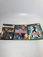 Lot Of 3 Original Xbox Dance Dance Revolution Ultramix 1 2 & 4 DDR FREE SHIPPING