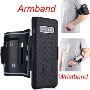 Armband Case Wristband Cover Phone Holder For Samsung Galaxy S9 S10 S10e Note10+