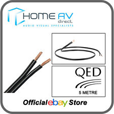 QED 79 Strand Speaker Cable OFC High Grade Copper Award Winning - 5m - Black