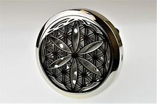 Flower Of Life Aromatherapy Car Air Freshener Essential Oil Car Vent Diffuser