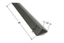 12 X 12 X 48 Stainless Steel Corner Guard 90 Degree Angle 20ga