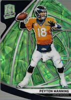 2019 Panini Spectra Neon Green Die Cut #72 Peyton Manning /30