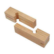 KOBALT WOOD LINE BLOCK PAIR used with mason's string for stacking brick