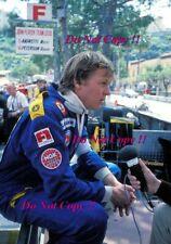 Ronnie Peterson JPS Lotus F1 Portrait Monaco Grand Prix 1978 Photograph 2