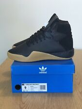 Adidas Originals Tubular Instinct Boost Shoes Black Leather Gum BY3611 Mens 9