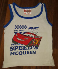 T-Shirt Cars Unterhemd Kinder Gr 98 Mädchen Jungen Unisex blau rot Sommer