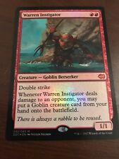 Magic the Gathering FOIL WARREN INSTIGATOR MTG Duel Deck Goblins vs. Merfolk