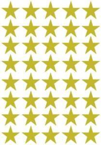 160@25mm Star stickers , Gold, Silver, Teacher reward, Achievement, Merit Award