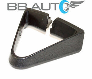 NEW BLACK TRIANGLE FRONT SEAT BELT GUIDE R=L FOR 77-81 CAMARO FIREBIRD TRANS AM
