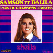 CD single .SHEILA	Samson et Dalila - 2-TRACK CARD SLEEVE