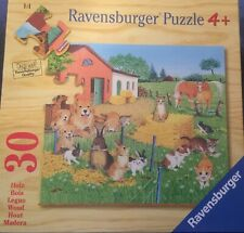 Holzspielzeug Holzpuzzle  Shaun das Schaf 34 x 27 x1cm Holz Puzzle 100 Teile small foot