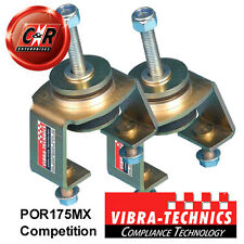 2 x Porsche 924 (76 on) Vibra Technics Engine Mount (L&R) - Competition POR175MX