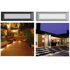 Outdoor Indoor Stair Step LED Light Stage Corner Wall Mount Deck 120V Lighting
