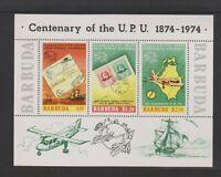 Barbuda - 1974, UPU sheet - MNH - SG MS180