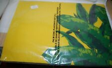 "Set of 4 AVON PALM CHIC Yellow Placemats 20"" x 14"" New Sealed"