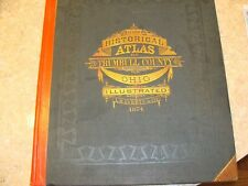 HISTORICAL ATLAS OF TRUMBULL COUNTY OHIO 1874 L.H.EVERTS