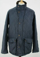 TIMBERLAND Earthekeepers Navy Quilted Jacket size XL Slim Fit