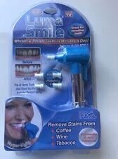 Spazzola ELETTRICA Sbiancamento LUMA SMILE + 5 Spazzole UK STOCK