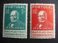 PORTUGAL Sc 599, 601 MNH stamps, gum has gum specs though.