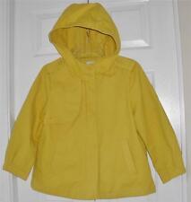 Gap Womens Canary Yellow Hooded Babydoll Fashion Office Dress Jacket Sz Small S