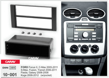 10001 1-DIN Radioblende für FORD Focus II, C-Max 2005-2011; S-Max, Fusion, Trans