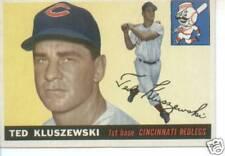 1955 Topps Ted Kluszewski Reds  EX MINT +  #  120