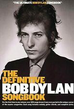 The Definitive Bob Dylan Songbook Small Format Sheet Music Book NEW 014008559
