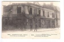CPA  NOGENT SUR OISE 60 -  GUERRE 1914 MAISONS BOMBARDEES PAR LAS ALLEMANDS ~B34