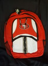 San Francisco 49ers Captain Backpack - NFL nwt football red white excellent