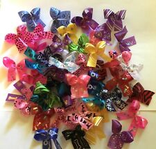 50 Small Dog Grooming Bows Variety Pack Dog Bows Yorkie Shih tzu Handmade USA