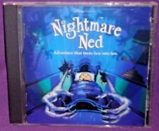 Nightmare Ned PC 1997 Rare Disney Adventure Game VGC