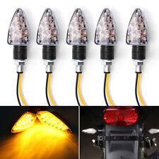 4x 15 LED Mini Blinkleuchte Vorn Hinten Motorrad Blinker Universal Roller