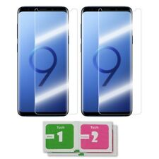 2x Samsung Galaxy S9 Panzerglas Echtglas Panzerglasfolie Panzerfolie Schutzfolie