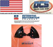 1970 Plymouth road runner GTX Under Deck Lid Spoiler Brackets 3506474-5 MoPar
