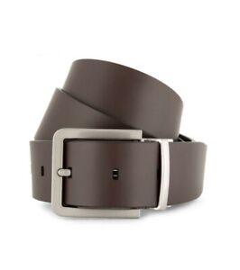 NEWCalvin Klein Men's Reversible Leather Belt - Brown/Black - Fits 39/40