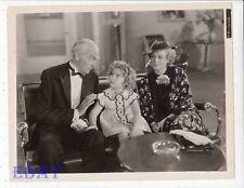Shirley Temple Gloria Stuart Claude Gillingwater VINTAGE Ph Poor Little Rich Gir