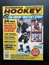 1988 HOCKEY SUPERSTARS MAGAZINE WAYNE GRETZKY COLECTOR EDITION SPECIAL No. 1
