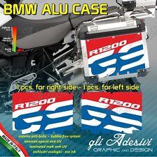 2 Adesivi Stickers Valigie Laterali BMW panniers R 1200 gs Rallye col