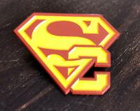Superman USC Logo High Quality Exclusive Enamel Pin!