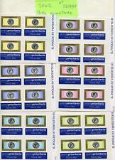 Italia 2002 Posta prioritaria in quartine 2633-38 Mnh