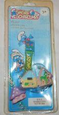 Vtg 1996 Smurfs Digital Watch Mini Playset House Smurfette NOS NIP Rare