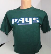 MAJESTIC MLB   Tampa Rays T-shirt Green Size L NWOT