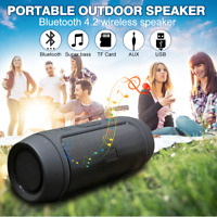 Portable Bluetooth Speaker Music Bass Subwoofer Outdoor Wireless Waterproof