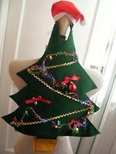 Christmas Tree Halloween Costume Toddler? SO CUTE Unisex w/Santa Hat